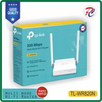 Router Wireless TP-LINK TL WR820N wifi 300mbps tplink 5dBi Antena