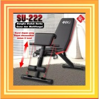 SIT UP BENCH untuk perut six pack bangku sit up alat fitness sit up