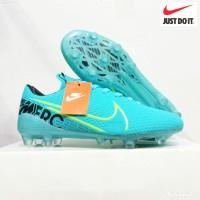 Big Diskon Sepatu Bola Nike Mercurial X Kualitas Grad Ori - Biru, 43