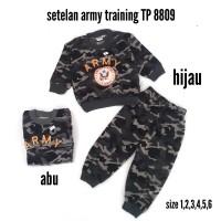 Baju Army Setelan Panjang Anak Laki-Laki TP 8809