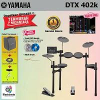 Drum Elektrik Yamaha DTX402 Paket Komplit / DTX402K / DTX 402 / 402K