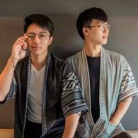 Baju Tenun Kimono motif toraja kombi fashion pria murah