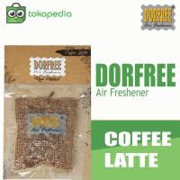 Dorfree Kopi Addict Parfum Pengharum Mobil dan Ruangan - Coffee Latte