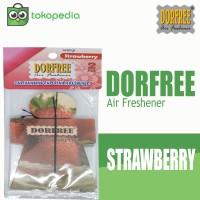 Dorfree Hanging Paper Parfum Mobil - Strawberry