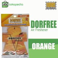 Dorfree Hanging Paper Parfum Mobil - Orange