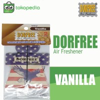 Dorfree Hanging Paper Parfum Mobil - Vanila