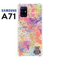 Casing Custom Samsung A71 Softcase Anticrack Motif Burung Lucu 08
