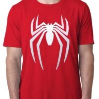 Kaos 4130 Spiderman Homecoming Red T-Shirt