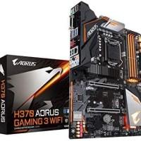 Promo Gigabyte Intel Motherboard H370 AORUS GAMING 3 QQWsxx