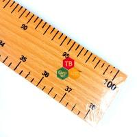 Penggaris Kayu 100 cm 1 Meter Papan Tulis 10 Pcs