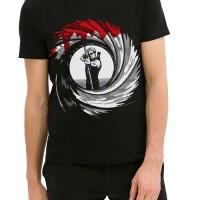 Kaos 9121 Hawk Eye Black T-Shirt