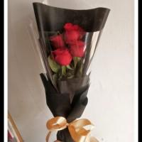 buket bunga mawar merah florist bandung murah hadiah ultah dan wisuda