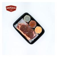 Tokyo Skipjack Prepared 2 NZ Striploin Steak