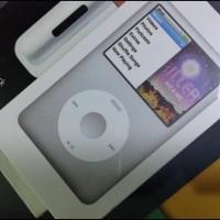 OBRAL BRAND NEW IN BOX - ipod classic 7th gen 160gb silver & universal
