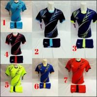DISKON TERLARIS Baju Kaos Jersey Olahraga Pria/Wanita Futsal Volly