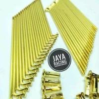 Terlaris Jari Jari Gold Model Tdr Ukuran Ring Velg 14 - 16 - 17 - 18