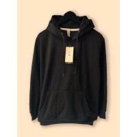 Jaket Hoodie Premium CAMOE Original Black / Hitam Basic
