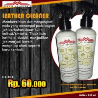 leather clean pembersih jok kulit, syntetic