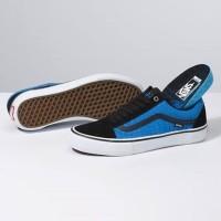 Sepatu Vans Old Skool Pro Rowan Zorilla Black/Blue Croc