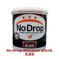No Drop Pelapis Bitumen Black Galon 4KG x aquaproof- (GRAB/GOJEK ONLY)