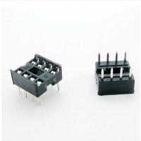 Socket Soket IC Rumah Dudukan Chip 8 Pin kaki DIP 8 DIP-8 NE555 Attiny