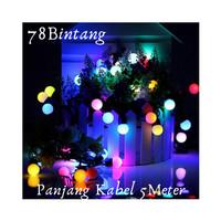 TERMURAH Lampu Hias Natal LED 5meter - Lampu Tumblr Anggur