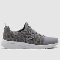 Sepatu Sneakers Skechers Dynamight Memory Foam Grey Original