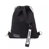 MAY BAGS GABY Tas Serut Kanvas Fashion Bag Wanita Sekolah Kanvas Mini