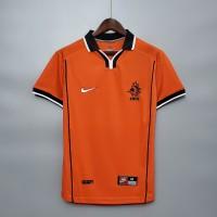 Jersey Bola RETRO Netherlands Holland Belanda HOME WORLD CUP 1998 Baju