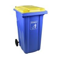 Tempat Sampah Plastik Neo Krisbow 240 Ltr - Biru