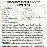 Program Master Rajah ( Wafaq )