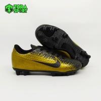 Sepatu Bola Anak Nike Mercurial Gold Hitam Embos Size 28 - 32 Terbaru