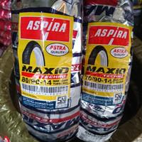 Paket Ban Motor Matic Tubeless Maxio Techno 70 90 & 80 90 ring 14
