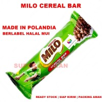 MILO Sereal Bar Cokelat Snack | Cereal Bar | Made In Polandia