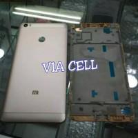 BACKDOOR + FRAME TATAKAN LCD XIAOMI MI MAX 1 BEZEL KESING FULLSET