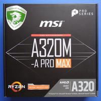 Paketan Motherboard / Mobo AM4 MSI A320M -A PRO MAX & Athlon X4 950
