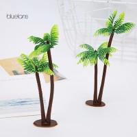 bluelans♘Plastic Artificial Plant Mini Coconut Tree Wedding Party
