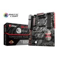 MSI B350 TOMAHAWK PLUS AMD B350 AM4 DDR4 ATX Motherboard