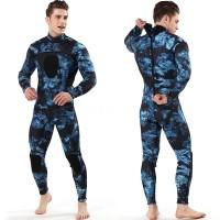 Baju Renang Wet Suit Pria Bahan Neoprene 3mm untuk Diving / Surfing