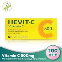 Vitamin Hevit-C 500mg (100 Tablet)