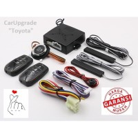 Carupgrade Toyota PKE Passive Keyless Entry push start engine autolock