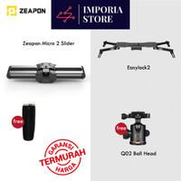 Camera Slider Zeapon Micro 2 + Easy Lock 2 + Free Ball Head