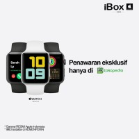 iBox Apple Watch series 3 38mm/42mm SpaceGray-Silver Resmi INDONESIA