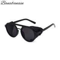 Kacamata Hitam Pria Steampunk Motor Classic Sunglasses KKCMC