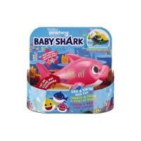 BABY SHARK SING AND SWIM BATH TOY PINK - ORIGINAL ZURU