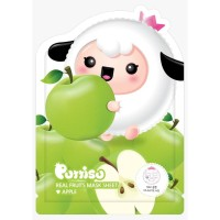 Puttisu Masker Wajah Anak - Real Fruits Sheet Mask Apple