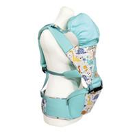 Gendongan Hipseat Bayi Baby Family 6 - Baby Carrier BFG6102 - Biru Muda