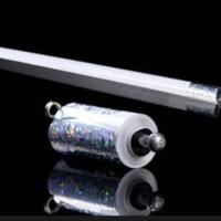 Mainan sulap - alat sulap tongkat metal/besi putih - Gimmick