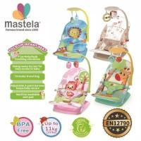 Mastela Fold up Infant Seat Baby Bouncer Kursi Mainan Bayi