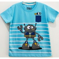 Kaos Anak Cowo Karakter Robot | Baju Gambar Robot